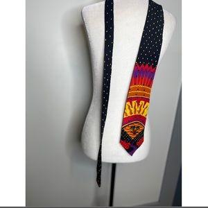 """Vintage Beatles necktie """"Good Day Sunshine"""""""